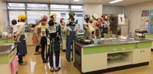 2月の福島市 おんぶで食育体験教室